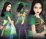 AMR Customskin: Cursed Serpent Lamia
