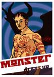 monster dress up by terrordactil