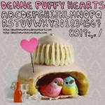 Denne Puffy-hearts