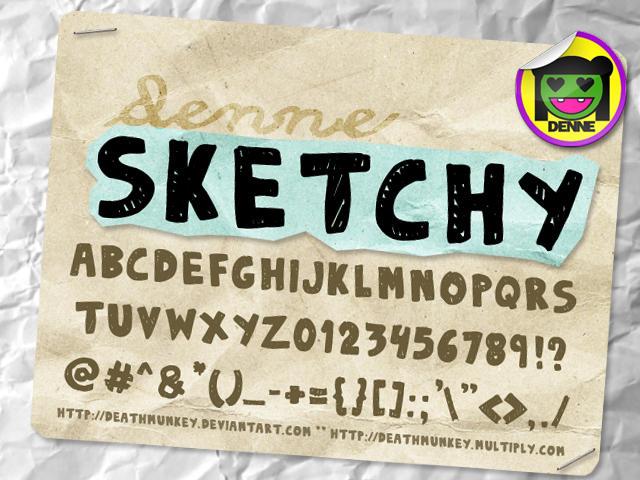 DENNE Sketchy by deathmunkey