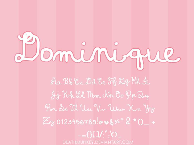 Dominique by deathmunkey