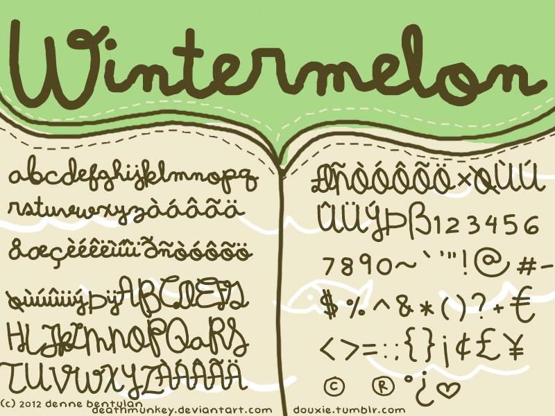 WINTERMELON by deathmunkey