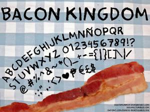 Bacon Kingdom Font