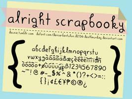 Alright Scrapbooky by deathmunkey