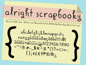 Alright Scrapbooky