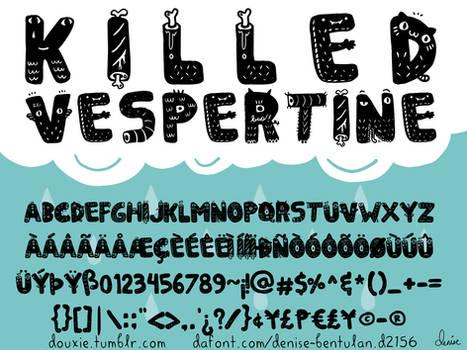 Killed Vespertine