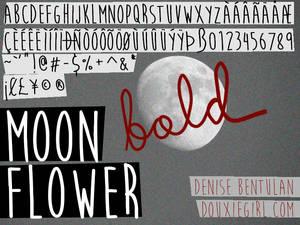 Moon Flower Bold