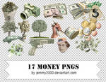 [Resources] 17 Money PNGs - Pack 2
