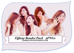 [Render Pack] Tiffany SNSD in white - 5 PNGs