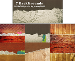 [Resources] 7 BackGround Textures - Pack 3