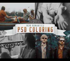 PSD # 21 [New Romantics]