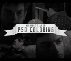 PSD # 22 [Midnight Talker] by marioantonio23