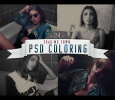 PSD # 24 [Drag Me Down] by marioantonio23