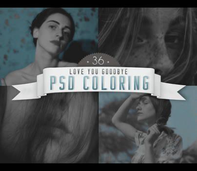 PSD # 36 [Love You Goodbye]