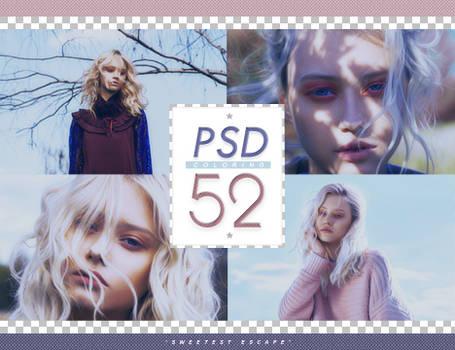 PSD # 52 [Sweetest Escape]