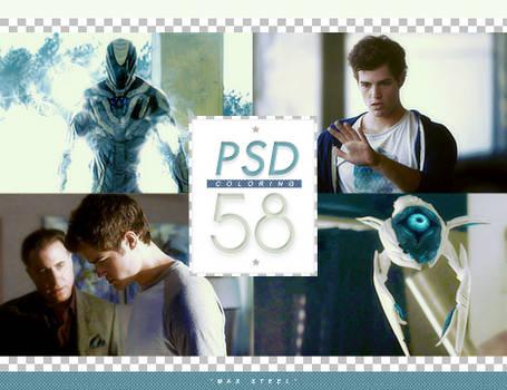 PSD # 58 [Max Steel]