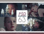 PSD # 63 [Sign of the Times]