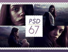 PSD # 67 [To Be Human] by marioantonio23
