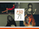 PSD # 71 [I Did Something Bad]
