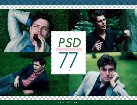 PSD # 77 [Delicate]