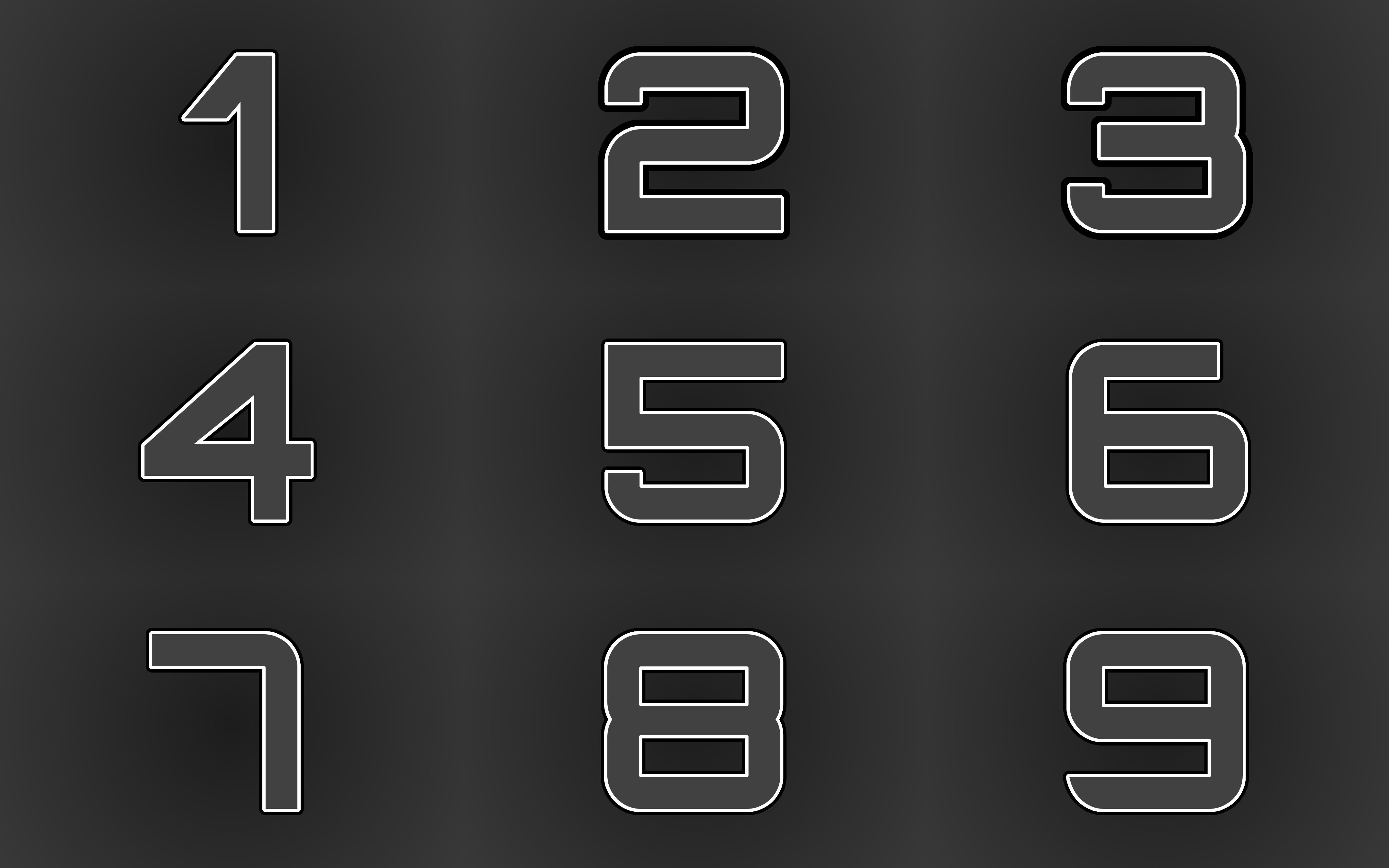 Numbers Wallpaper by Gimping-Fool on DeviantArt  Numbers Wallpap...