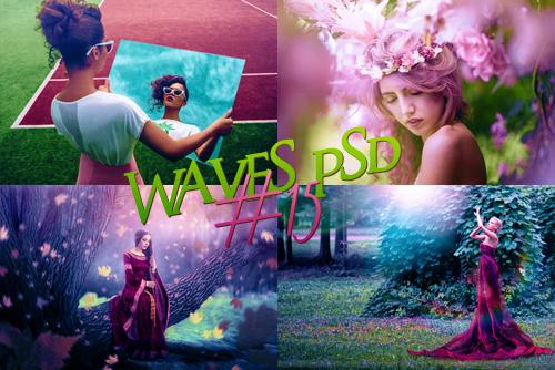Waves psd #15