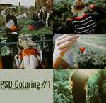 PSD Coloring #1