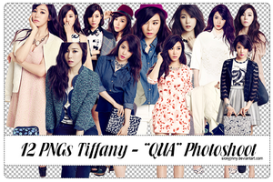 Pack 12 PNGs Tiffany - QUA Photoshoot (p2) by SickyJinny
