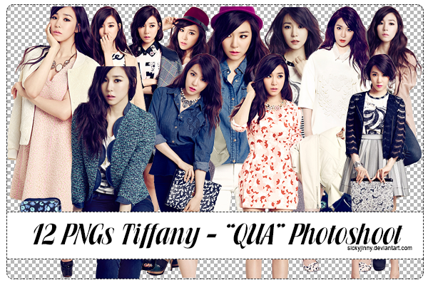 Pack 12 PNGs Tiffany - QUA Photoshoot (p2) by SickyJinny