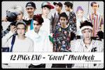 Pack 12 PNGs EXO