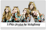 5 PNGs Jessica