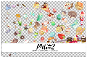 PNG#2. Food by SickyJinny
