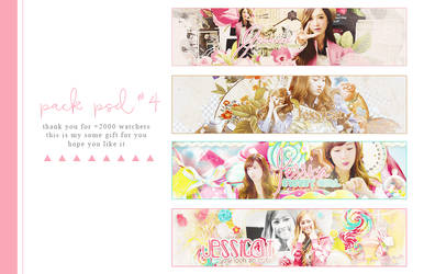 Pack Psd#4 | thank you for +2000 watchers by SickyJinny