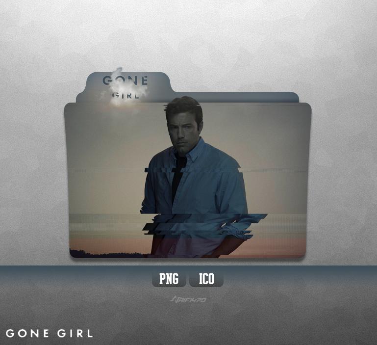 gone girl folder icon by naif1470 on deviantart