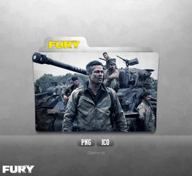 Fury - Folder Icon by Naif1470