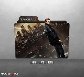 Taken 3 - Folder Icon by Naif1470