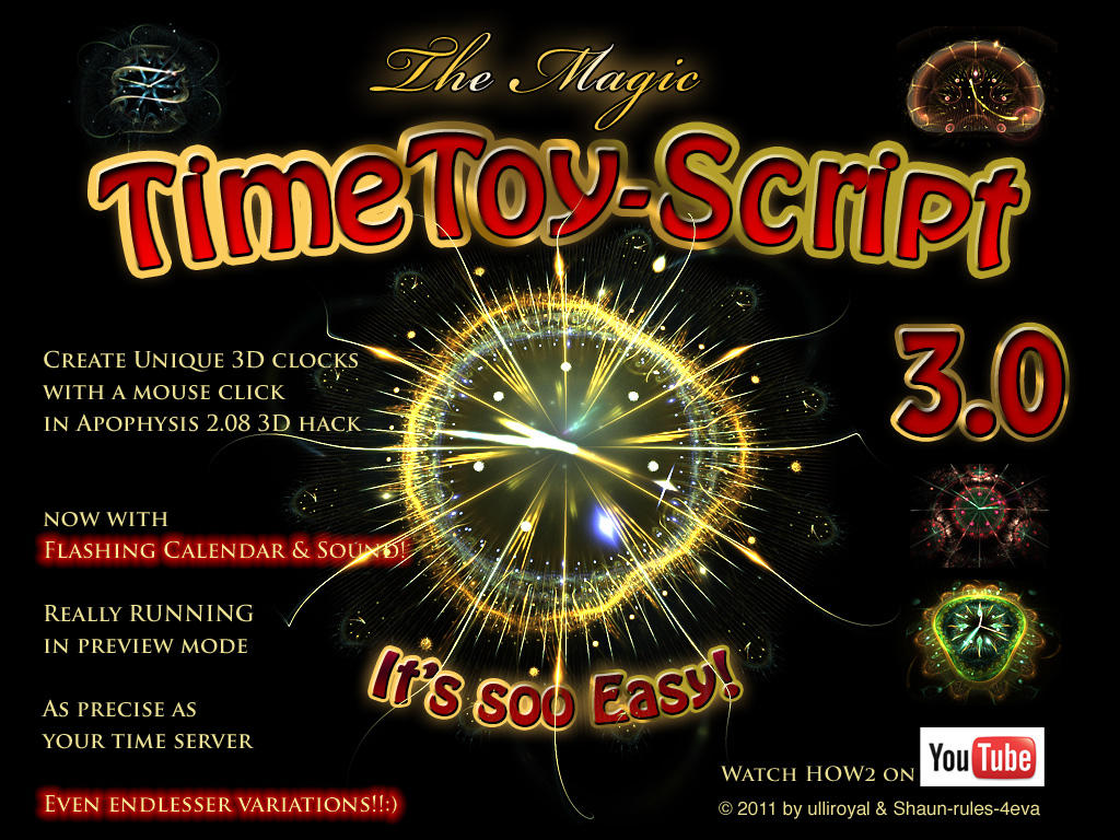 The MAGIC TimeToyScript 3.0 by ulliroyal
