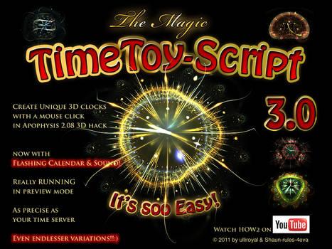The MAGIC TimeToyScript 3.0