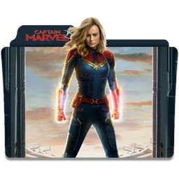 Captain Marvel Folder Icon by Luky993 on DeviantArt