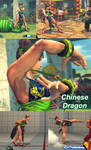 SF 4 Chun Li's Chinese dragon