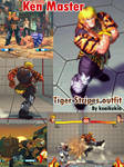 SF4 Ken's tiger stripe outfit