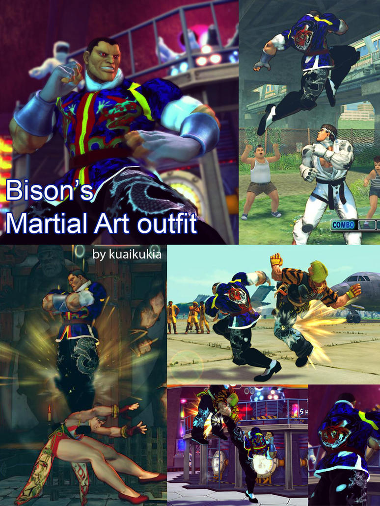SF4 Bison's Martial art by cicakkia