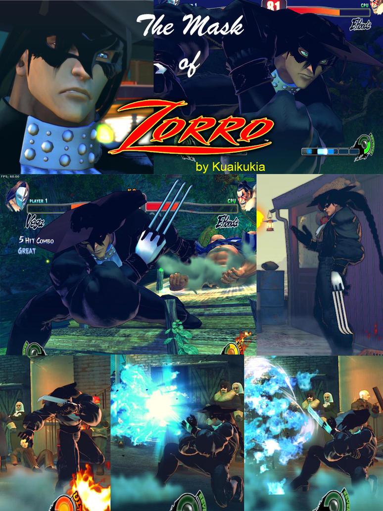 SF4 Zorro Vega by cicakkia