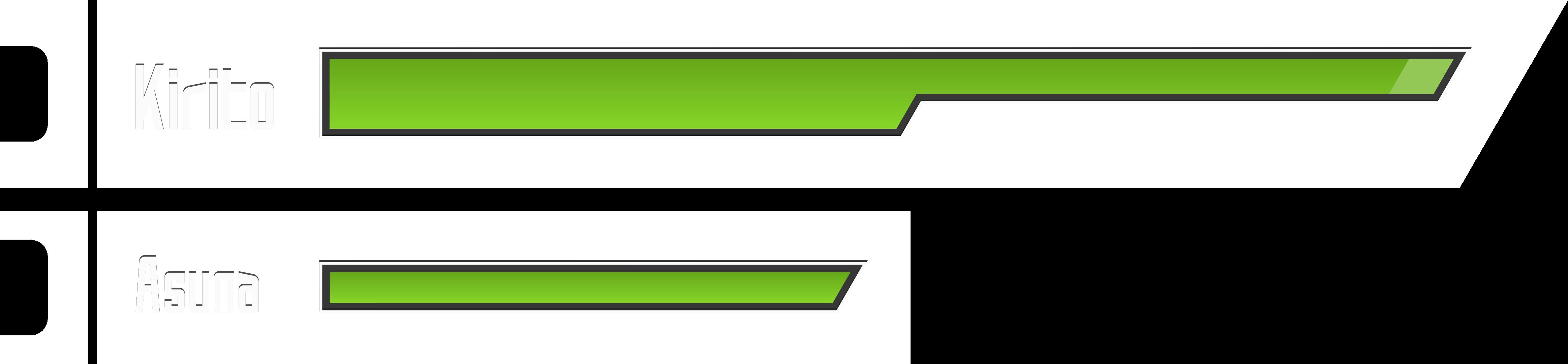 Sword Art Online HP Bar