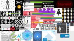 Sword Art Online - Vector Graphics _ All in one.