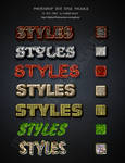 phtshop text styles