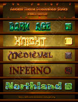 ancient pshop text styles by dabbex30