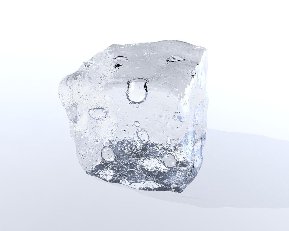 3D Ice Cube by dabbexsahi by dabbex30