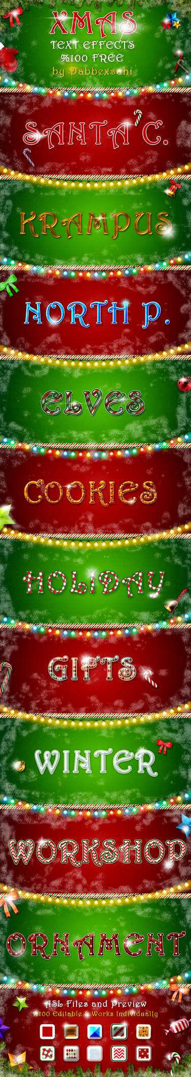 Xmas-text-effect-2015 by dabbex30