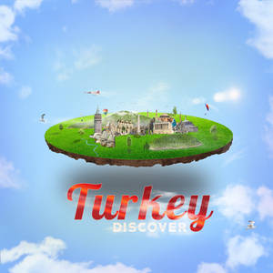 3d Turkey Floating Island Travel Agency Flyer(Post
